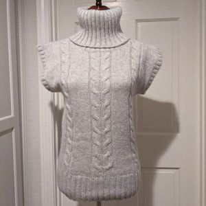 L.O.G.G.by H&M Cable Knit Short Sleeve Sweater